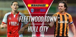 Prediksi Fleetwood Town vs Hull City 10 Oktober 2020
