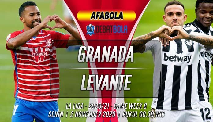 Prediksi Granada vs Levante 2 November 2020