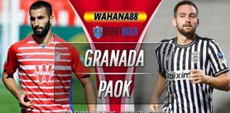Prediksi Granada vs PAOK 30 Oktober 2020