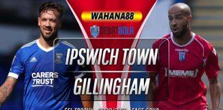 Prediksi Ipswich Town vs Gillingham 7 Oktober 2020