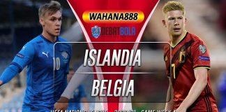 Prediksi Islandia vs Belgia 15 Oktober 2020