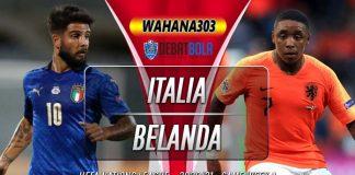 Prediksi Italia vs Belanda 15 Oktober 2020