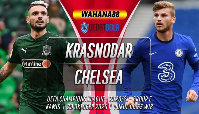 Prediksi Krasnodar vs Chelsea 29 Oktober 2020