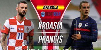 Prediksi Kroasia vs Prancis 15 Oktober 2020