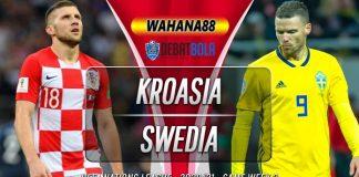 Prediksi Kroasia vs Swedia 11 Oktober 2020