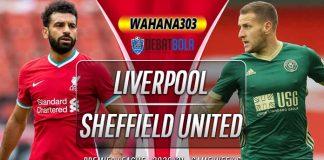 Prediksi Liverpool vs Sheffield United 25 Oktober 2020