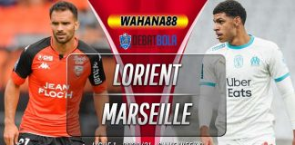 Prediksi Lorient vs Marseille 24 Oktober 2020