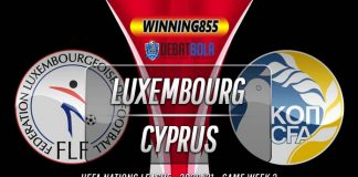 Prediksi Luksemburg vs Siprus 10 Oktober 2020