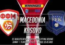 Prediksi Macedonia vs Kosovo 9 Oktober 2020