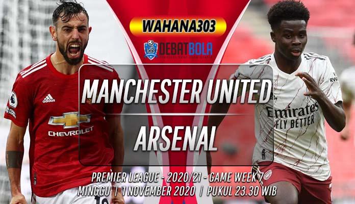 Prediksi Manchester United vs Arsenal 1 November 2020