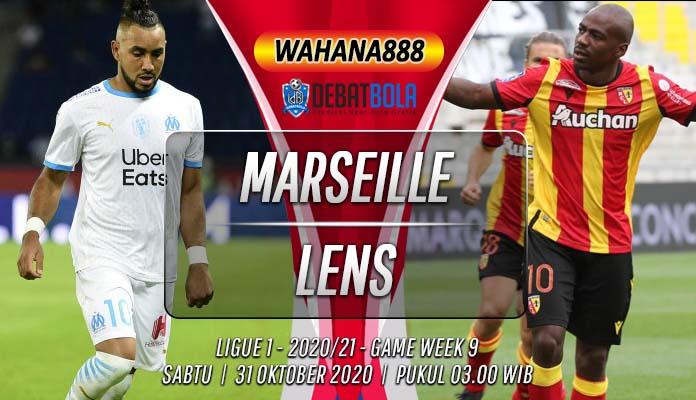 Prediksi Marseille vs Lens 31 Oktober 2020