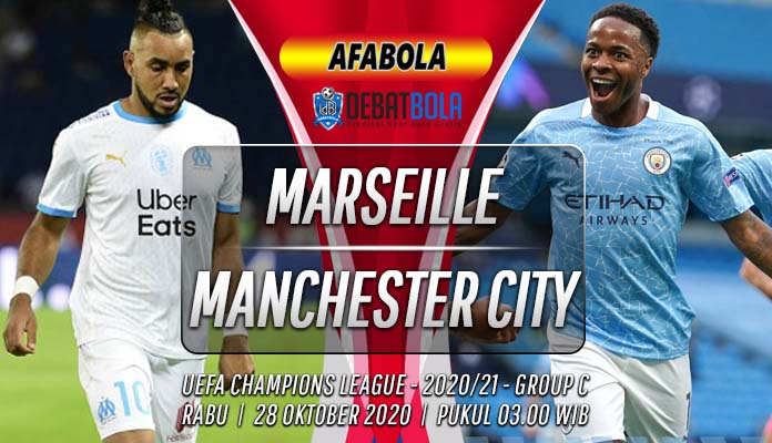 Prediksi Marseille vs Manchester City 28 Oktober 2020