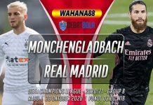 Prediksi Monchengladbach vs Real Madrid 28 Oktober 2020
