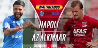 Prediksi Napoli vs AZ Alkmaar 22 Oktober 2020