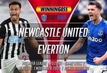 Prediksi Newcastle United vs Everton 1 November 2020
