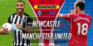Prediksi Newcastle United vs Manchester United 18 Oktober 2020