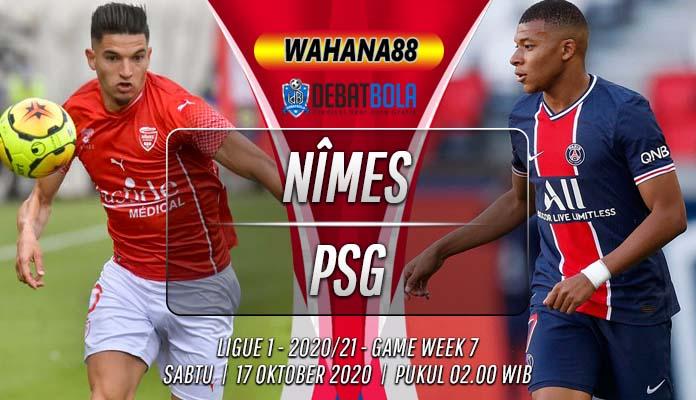Prediksi Nîmes vs PSG 17 Oktober 2020