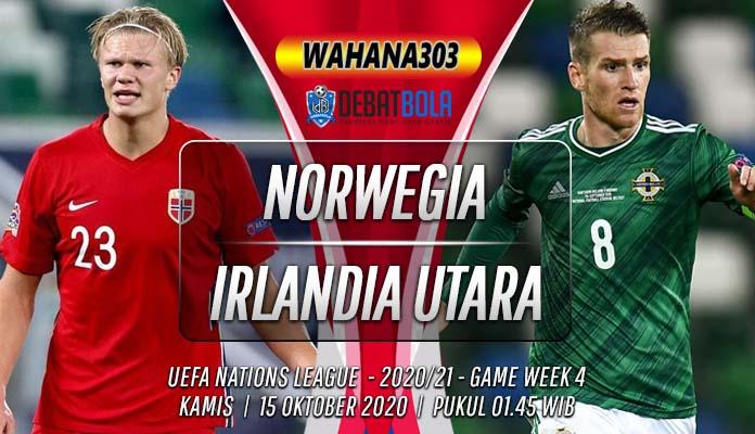 Prediksi Norwegia vs Irlandia Utara 15 Oktober 2020