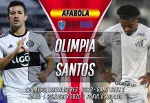 Prediksi Olimpia vs Santos 2 Oktober 2020