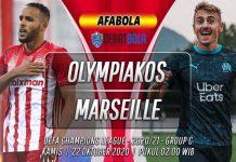 Prediksi Olympiakos vs Marseille 22 Oktober 2020
