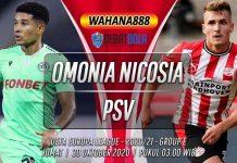 Prediksi Omonia Nicosia vs PSV 30 Oktober 2020