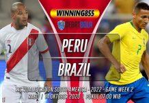 Prediksi Peru vs Brazil 14 Oktober 2020
