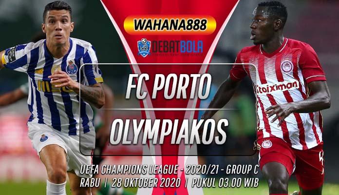 Prediksi Porto vs Olympiakos 28 Oktober 2020