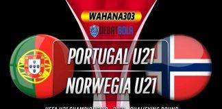 Prediksi Portugal U21 vs Norwegia U21 10 Oktober 2020