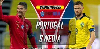 Prediksi Portugal vs Swedia 15 Oktober 2020