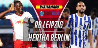 Prediksi RB Leipzig vs Hertha Berlin 24 Oktober 2020