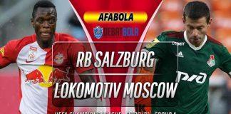 Prediksi RB Salzburg vs Lokomotiv Moscow 21 Oktober 2020