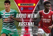 Prediksi Rapid Wien vs Arsenal 22 Oktober 2020