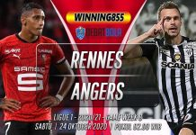 Prediksi Rennes vs Angers 24 Oktober 2020