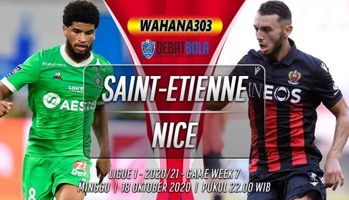 Prediksi Saint-Etienne vs Nice 18 Oktober 2020