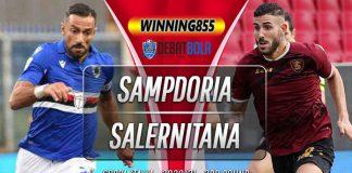 Prediksi Sampdoria vs Salernitana 27 Oktober 2020