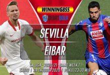 Prediksi Sevilla vs Eibar 24 Oktober 2020