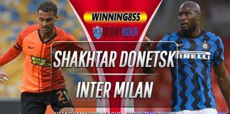 Prediksi Shakhtar Donetsk vs Inter Milan 28 Oktober 2020