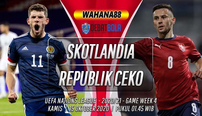 Prediksi Skotlandia vs Republik Ceko 15 Oktober 2020