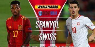 Prediksi Spanyol vs Swiss 11 Oktober 2020