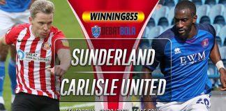 Prediksi Sunderland vs Carlisle United 7 Oktober 2020