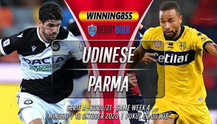 Prediksi Udinese vs Parma 18 Oktober 2020