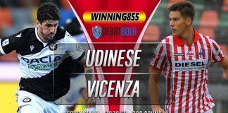 Prediksi Udinese vs Vicenza 29 Oktober 2020