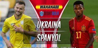 Prediksi Ukraina vs Spanyol 14 Oktober 2020