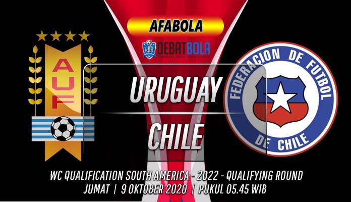 Prediksi Uruguay vs Chile 9 Oktober 2020