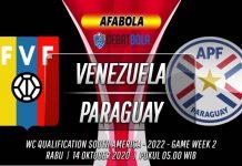 Prediksi Venezuela vs Paraguay 14 Oktober 2020