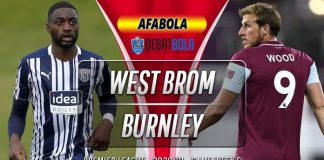Prediksi West Brom vs Burnley 19 Oktober 2020