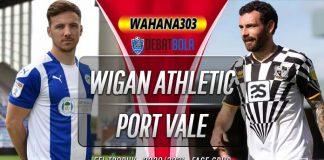 Prediksi Wigan Athletic vs Port Vale 7 Oktober 2020