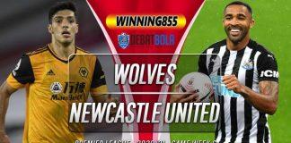 Prediksi Wolves vs Newcastle United 25 Oktober 2020