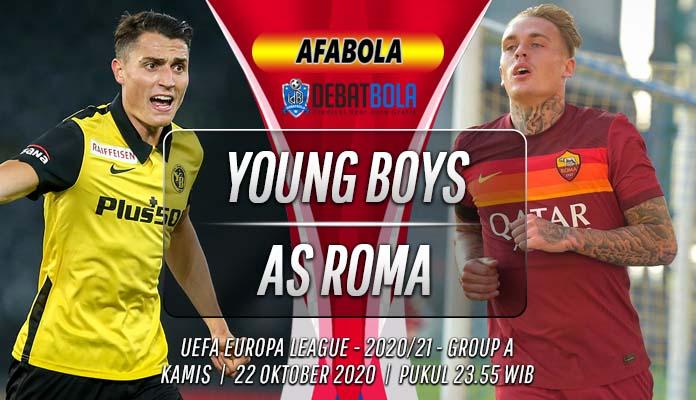 Prediksi Young Boys vs AS Roma 22 Oktober 2020