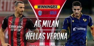 Prediksi AC Milan vs Hellas Verona 9 November 2020
